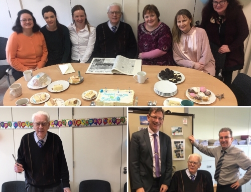 Frank Higgins 90th Birthday Celebrations